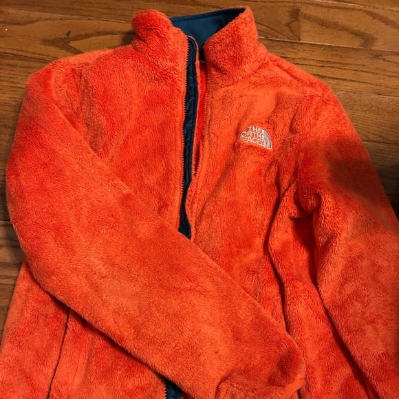 6e68664a0c6bd The North Face Jackets & Coats | Bright Orange Fleece North Face ...